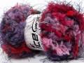 Softly chunky - fialovofuchsiovočervenorůžová