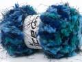 Softly chunky - modrotyrkysová