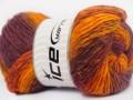 Sultan vlna - oranžovoměděnokaštanovovínová