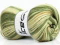 Super vlna - zelené odstíny