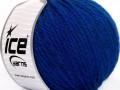 Superbulky vlna - modrá
