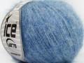 Superkid mohér komfort - modrosvětle modrá