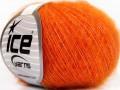 Superkid mohér komfort - oranžová 1