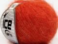 Superkid mohér komfort - oranžová 2