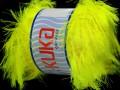 Supersoft fur - fosforově žlutá