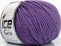 Superwash merino - fialová