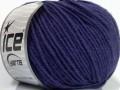 Superwash merino - purpurová