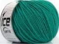 Superwash merino - smaragdově zelená