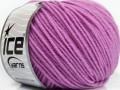 Superwash merino - světle fialová