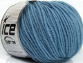 Superwash merino - světle modrá