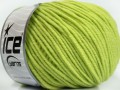 Superwash merino - světle zelená