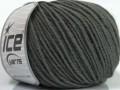 Superwash merino - tmavě šedá