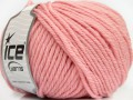 Superwash vlna bulky - dětská růžová