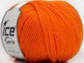 Superwash vlna - oranžová