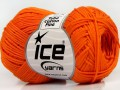 Tube bavlna fajn - oranžová