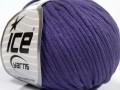 Tube bavlna - purpurová 2