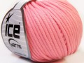 Tube bavlna - růžová