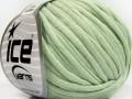 Tube bavlna - světlá mátově zelená