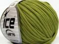 Tube bavlna - tmavě zelená