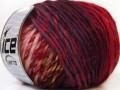 Vivid vlna - fialovozelenočervená