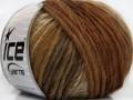 Vivid vlna - hnědovelbloudí odstíny