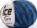 Vlna comfort superfajn - modré odstíny