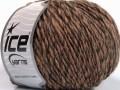 Vlna cord aran - lososovohnědovelbloudí