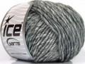 Vlna cord aran - šedé odstíny