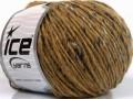 Vlna cord aran - světle hnědámodré odstíny