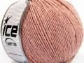Vlna Cord light - anticky růžová