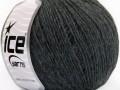 Vlna Cord light - antracitově černá