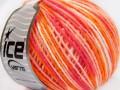 Vlna Cord light - oranžovorůžová