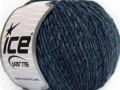 Vlna Cord light - tmavší modré odstíny