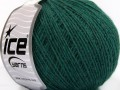 Vlna cord sport - tmavě zelená 1