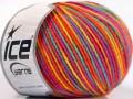 Vlna DK color - duhová