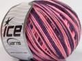 Vlna DK color - růžovofialová