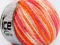 Vlna worsted color - oranžovorůžová