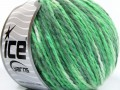 Vlna worsted color - zelené odstíny