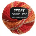 Vlnap sport - červenooranžová č. 10293
