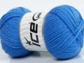 Woolly softy baby - indigo modrá