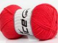 Woolly softy baby - lososová