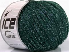 Airwool glitz - zelenostříbrná