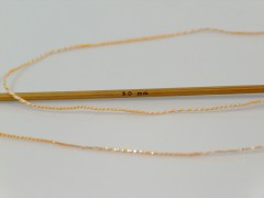 Aldebaran glitz - krémovozlatá
