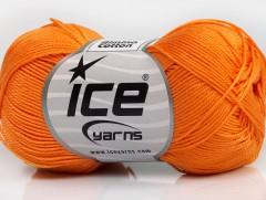 Almina bavlna - oranžová 1