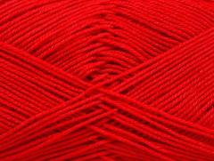 Almina bavlna - ostře červená