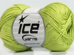 Almina bavlna - světle zelená