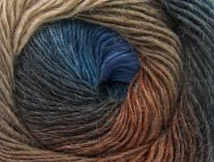 Alpaka aktiv - modrohnědé odstíny