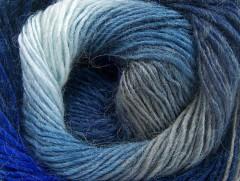 Alpaka aktiv - modrošedá