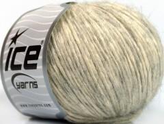 Alpaka bavlna - světlešedokrémová