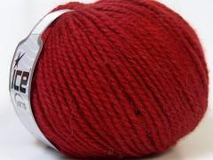 Alpaka bulky - tmavě červená
